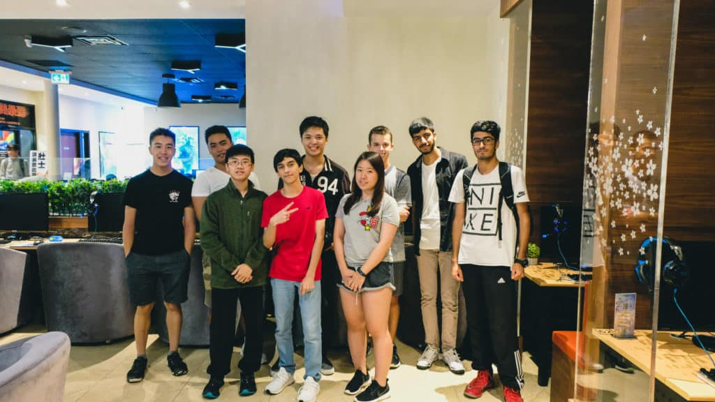 Acting as one of the project leaders for the Toronto Open Championship at Invictus Gaming Station in 2018